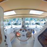 Rocketeer catamaran mid cabin