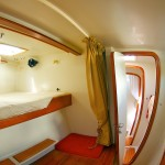 Rocketeer catamaran interior