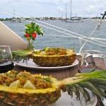 pineapple seafood salad