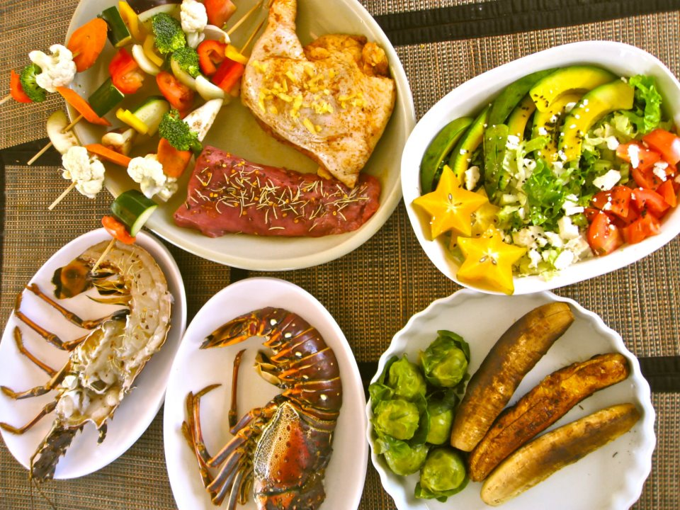 food smorgasboard