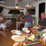 Party in St Martin