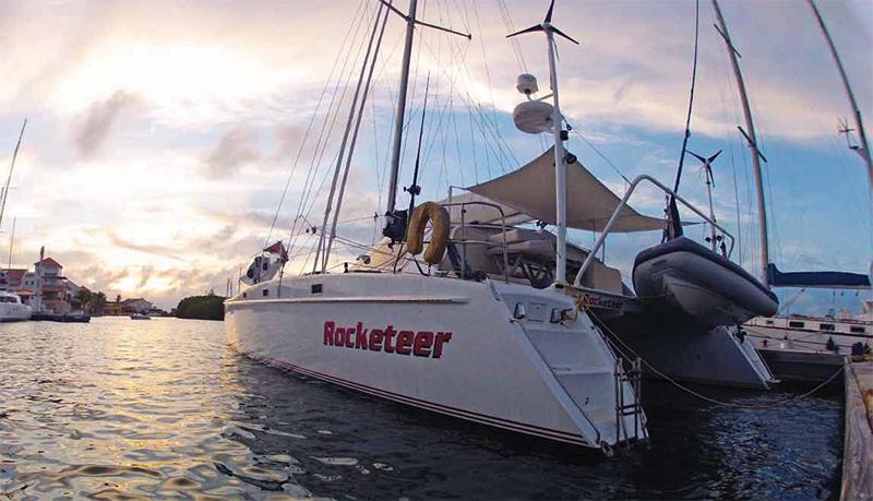 sailing charter catamaran