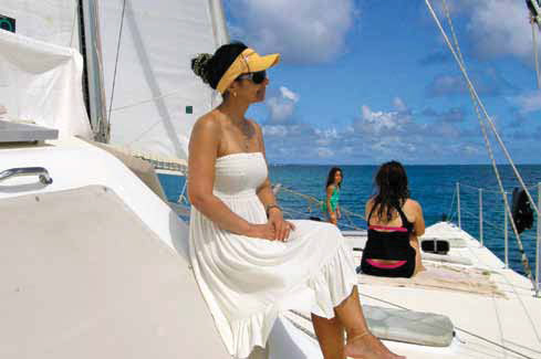 crewed sailing charter